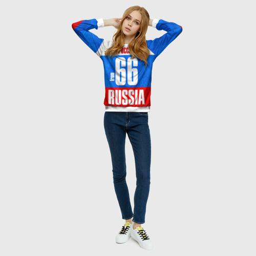 Женский свитшот 3D Russia (from 66)