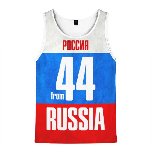 Мужская майка 3D Russia (from 44)