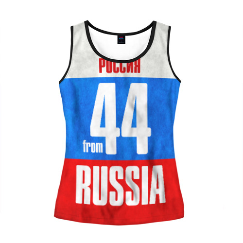 Женская майка 3D Russia (from 44)