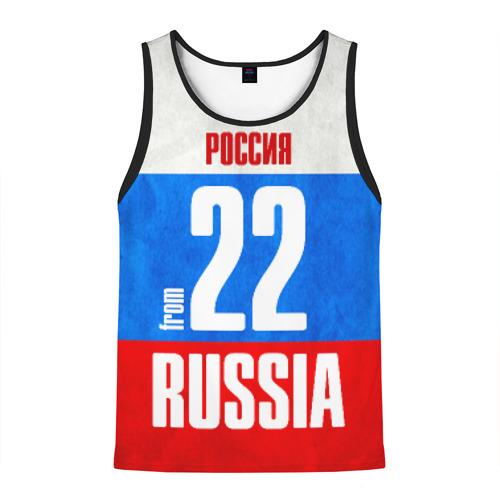 Мужская майка 3D Russia (from 22)