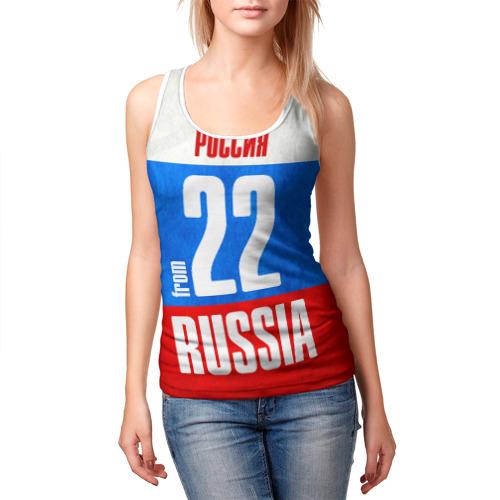 Женская майка 3D  Фото 03, Russia (from 22)
