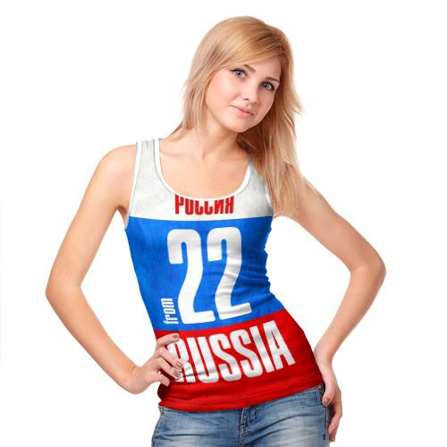 Женская майка 3D  Фото 05, Russia (from 22)