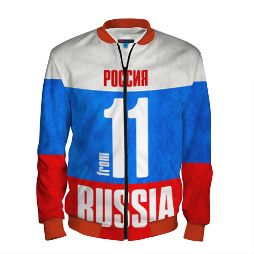 Мужской бомбер 3D Russia (from 11)