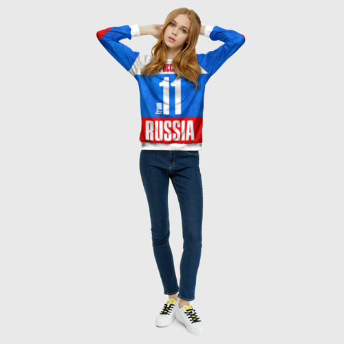 Женский свитшот 3D Russia (from 11)