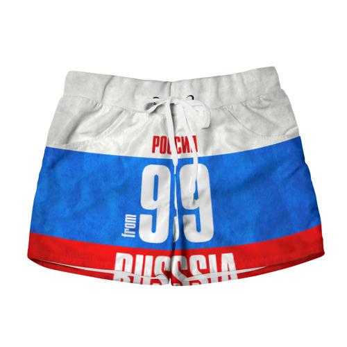 Женские шорты 3D Russia (from 99)