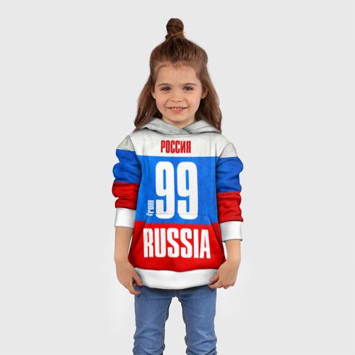 Детская толстовка 3D Russia (from 99)