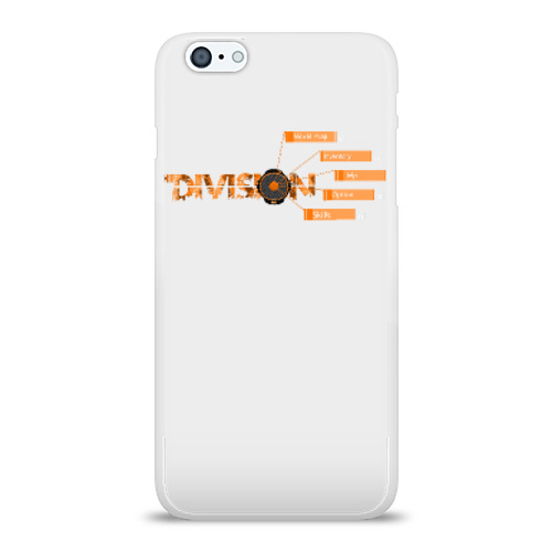 Чехол для Apple iPhone 6Plus/6SPlus силиконовый глянцевый  Фото 01, The Division