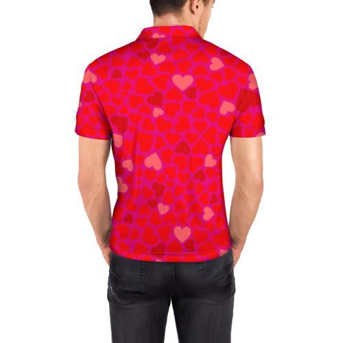 Мужская рубашка поло 3D  Фото 04, Valentine's Day