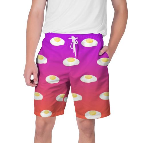 Мужские шорты 3D Яичница