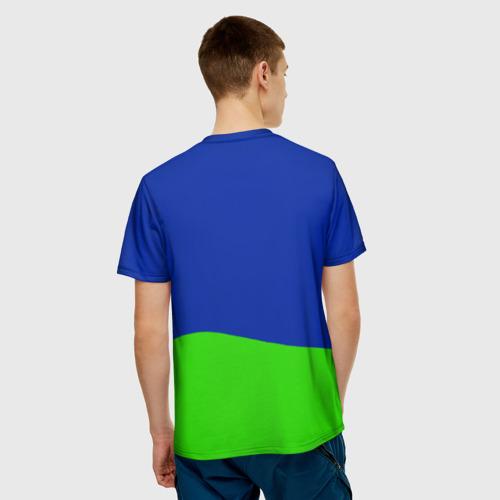 Мужская футболка 3D love is Фото 01