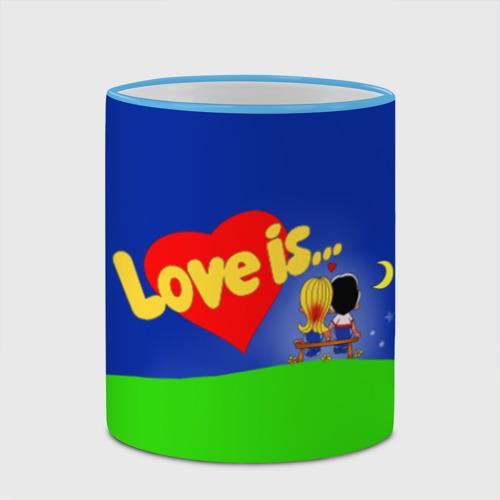 Кружка с полной запечаткой  Фото 03, love is