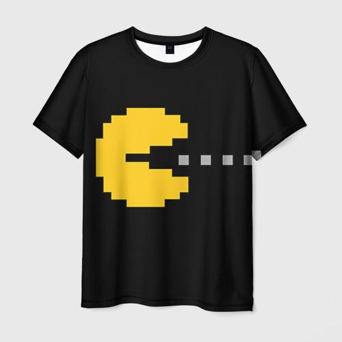Мужская футболка 3D  Фото 03, PAC-MAN