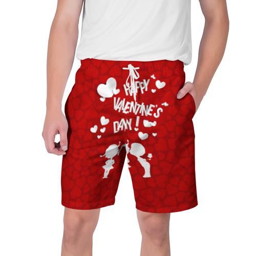 Мужские шорты 3D Valentine's Day