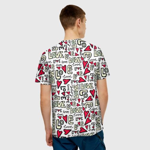 Мужская футболка 3D  Фото 02, День святого Валентина