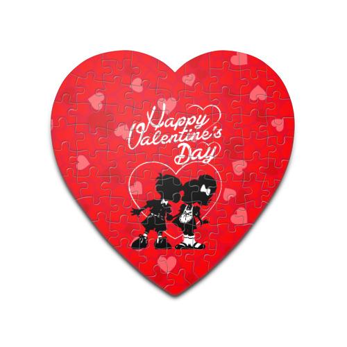 Пазл сердце 75 элементов  Фото 01, Valentine's Day