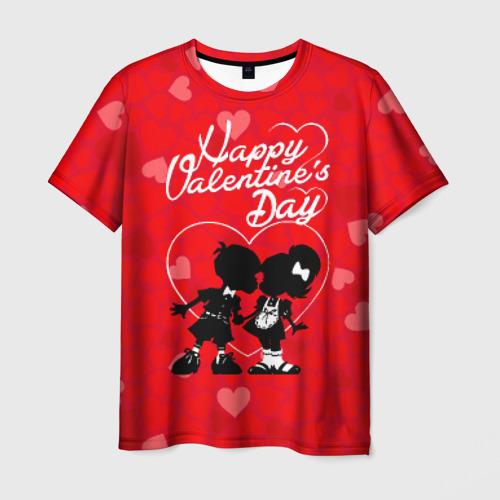 Мужская футболка 3D  Фото 03, Valentine's Day