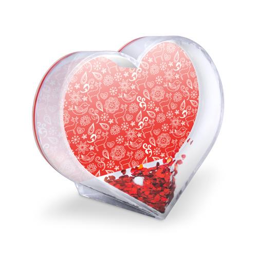 Сувенир Сердце  Фото 03, Новогодний микс