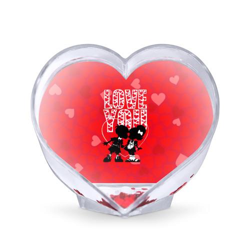 Сувенир Сердце Люблю тебя Фото 01