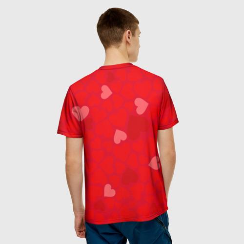 Мужская футболка 3D  Фото 02, Люблю тебя