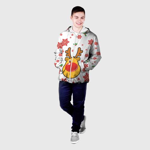 Мужская куртка 3D  Фото 03, Олень подмигивает