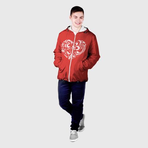 Мужская куртка 3D  Фото 03, Сердце