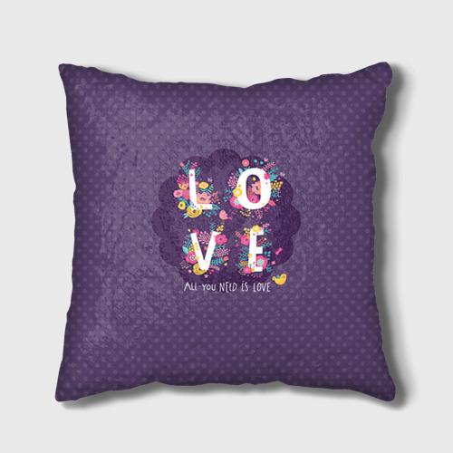 Подушка 3D  Фото 01, Love