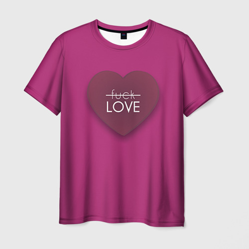 Мужская футболка 3D  Фото 03, Любовь