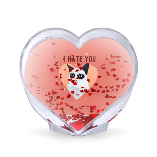 Сувенир Сердце  Фото 02, I hate you