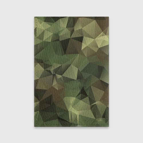 Обложка для паспорта матовая кожа  Фото 02, Зеленый фонарь