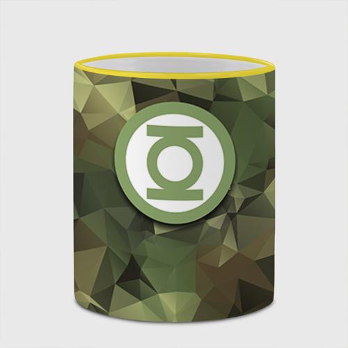 Кружка с полной запечаткой  Фото 03, Зеленый фонарь