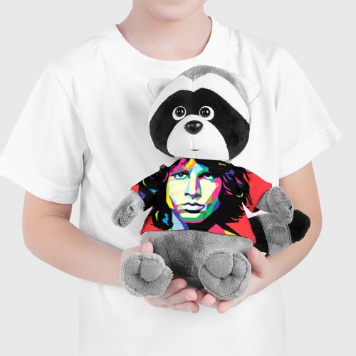 Енотик в футболке 3D  Фото 04, Jim morrison
