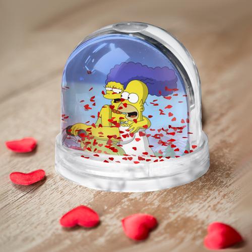 Водяной шар  Фото 03, Гомер и Мардж