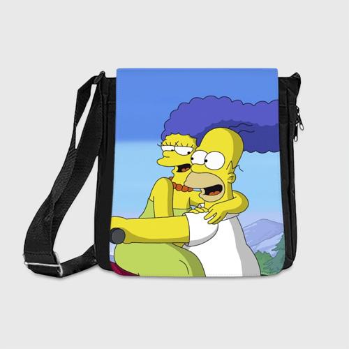 Сумка через плечо Гомер и Мардж Фото 01