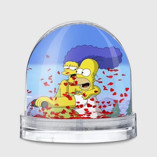 Водяной шар  Фото 01, Гомер и Мардж