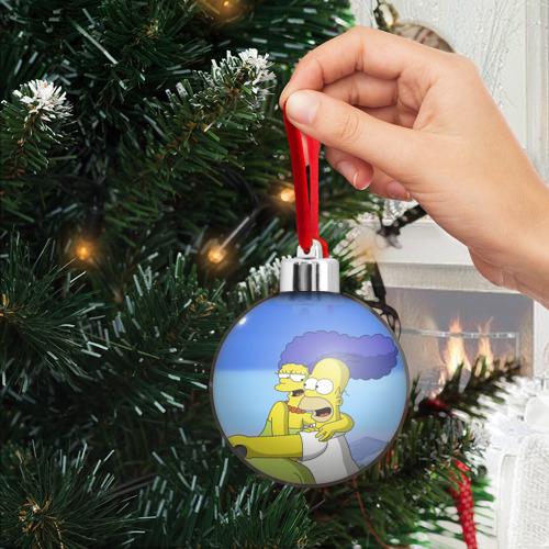 Ёлочный шар  Фото 03, Гомер и Мардж