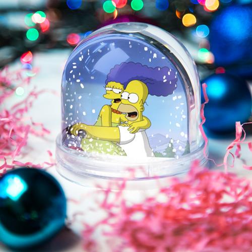 Водяной шар со снегом  Фото 03, Гомер и Мардж