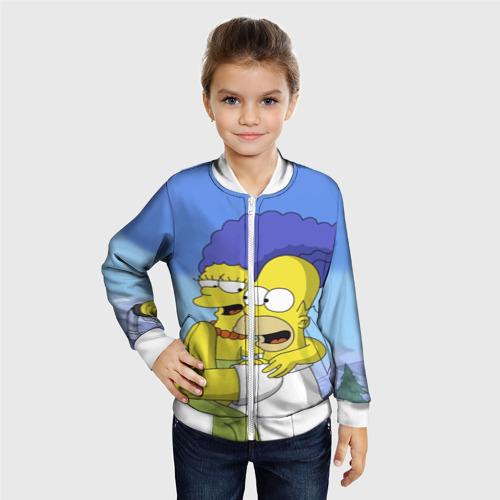 Детский бомбер 3D  Фото 06, Гомер и Мардж