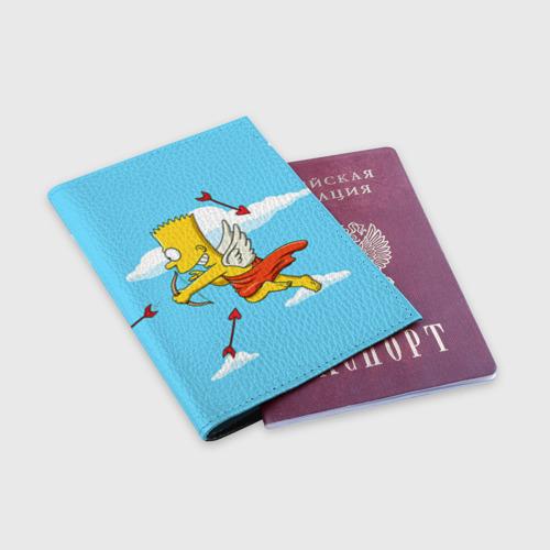 Обложка для паспорта матовая кожа  Фото 03, Барт амур