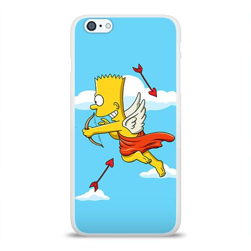 Чехол для Apple iPhone 6Plus/6SPlus силиконовый глянцевый  Фото 01, Барт амур