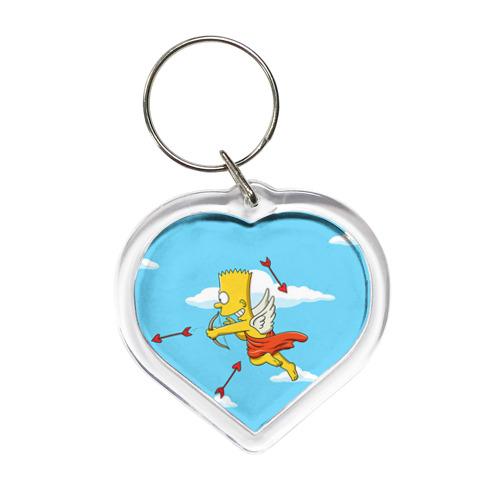 Брелок сердце Барт амур от Всемайки