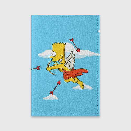 Обложка для паспорта матовая кожа  Фото 01, Барт амур
