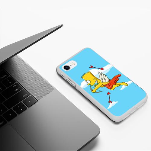 Чехол для iPhone 7/8 матовый Барт амур Фото 01