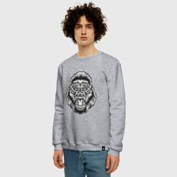 Голова гориллы