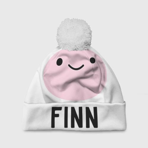 Шапка 3D c помпоном Finn