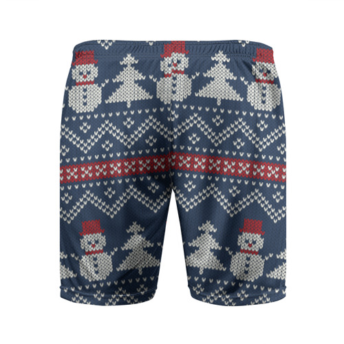 Мужские шорты 3D спортивные бабушкин свитер Фото 01