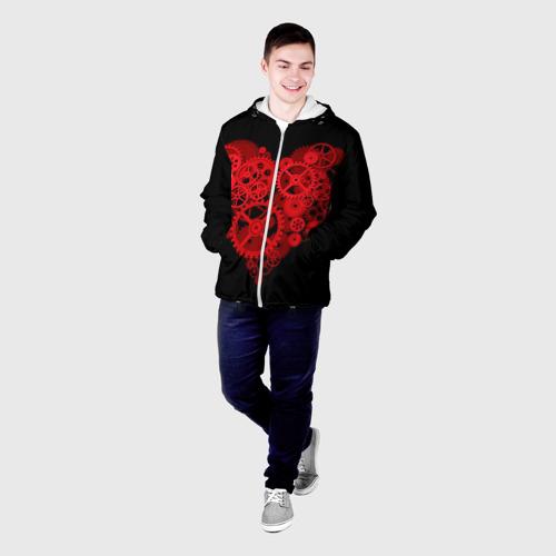 Мужская куртка 3D  Фото 03, Механическое сердце