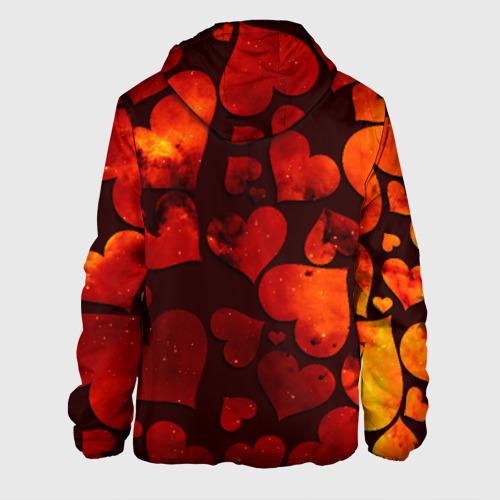 Мужская куртка 3D  Фото 02, Космические сердечки