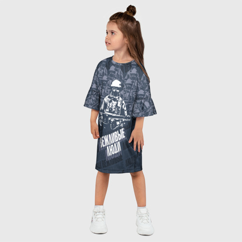 Детское платье 3D  Фото 03, Вежливые люди