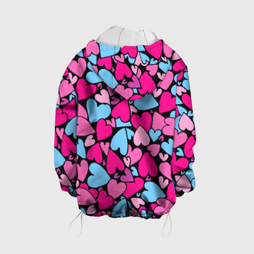 Детская куртка 3D  Фото 02, Сердца
