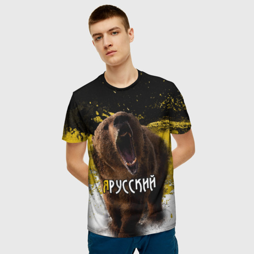 Мужская футболка 3D  Фото 03, Я русский